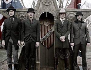 The Raconteurs formed in 1872.