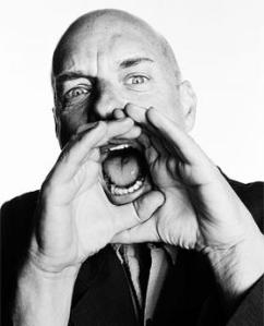 Throw some food at Brian Eno.