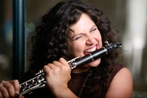 Anat Cohen can eat the clarinet like no other clarinautist out there.